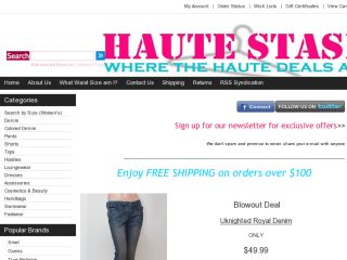 Shop at hautestash.com