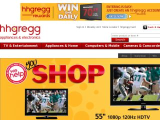 Shop at hhgregg.com
