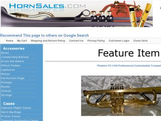 Shop at hornsales.com