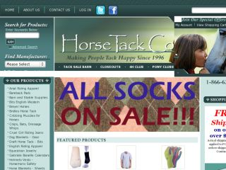 Shop at horsetackco.com