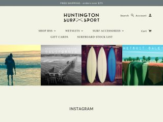 Shop at hsssurf.com