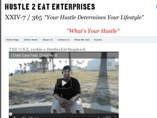 Shop at hustle2eat.com