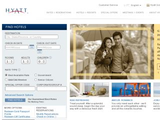 Shop at hyatt.com