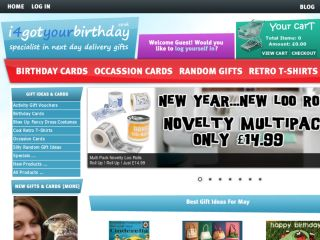 Shop at i4gotyourbirthday.co.uk