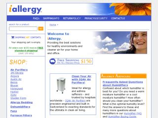Shop at iallergy.com