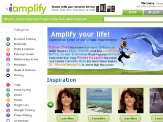 Shop at iamplify.com