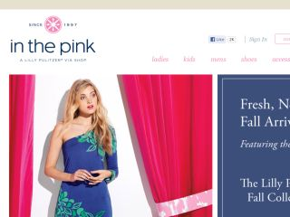 Shop at inthepinkonline.com