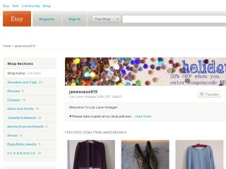 Shop at jamesness919.etsy.com
