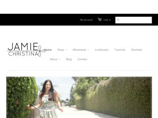 Shop at jamiechristina.com