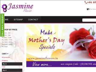 Shop at jasmineflowers.in