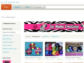 Shop at joemamacreations.etsy.com