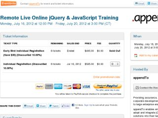 Shop at jquery-online-training.eventbrite.com