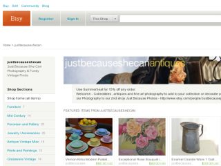 Shop at justbecauseshecan.etsy.com