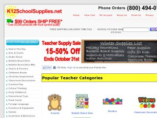 Shop at k12schoolsupplies.net