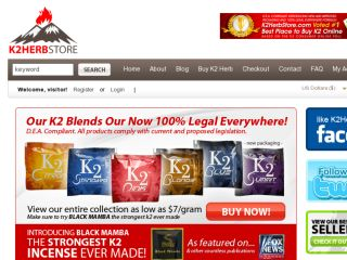 Shop at k2herbstore.com