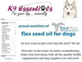 Shop at k9essentials.co.nz