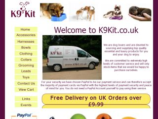 Shop at k9kit.co.uk