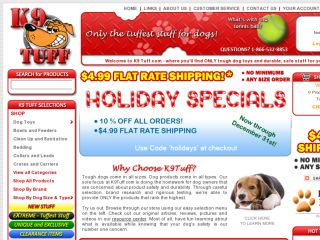 Shop at k9tuff.com