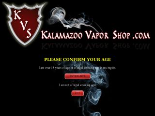 Shop at kalamazoovaporshop.com