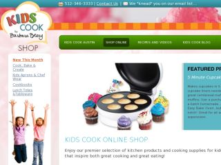 Shop at kidscookingshop.com