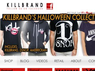 Shop at killbrand.com
