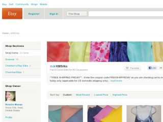 Shop at kmsilks.etsy.com