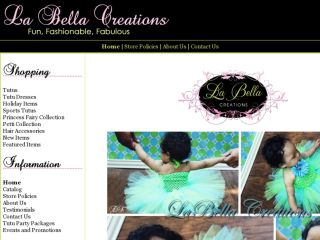 Shop at labellacreations.net