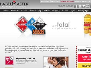Shop at labelmaster.com
