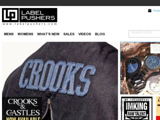 Shop at labelpushers.com