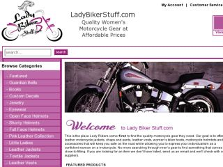 Shop at ladybikerstuff.com