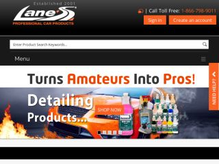 Shop at lanescarproducts.com