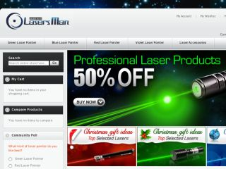 Shop at lasersman.com