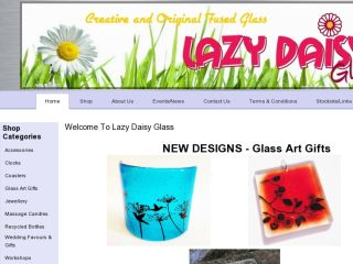 Shop at lazydaisyglass.co.uk