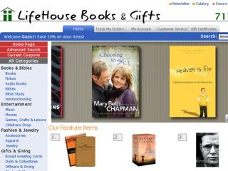 Shop at lifehouse-books.com