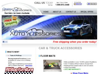 Shop at lifetimeautoaccessories.com