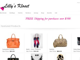 Shop at lillyskloset.com