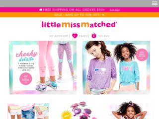 Shop at littlemissmatched.com