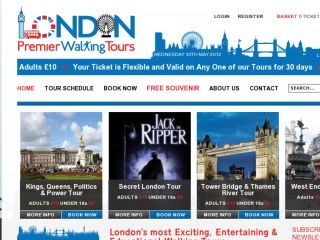 Shop at londonpremierwalkingtours.co.uk