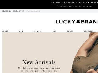 Shop at luckybrand.com