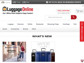 Shop at luggageonline.com