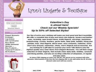 Shop at lynnlingerie.com