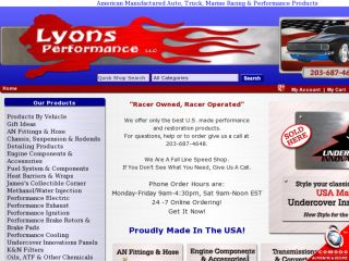 Shop at lyonsperformance.com