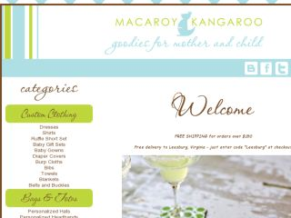 Shop at macaroykangaroo.com