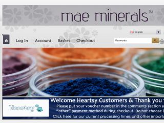 Shop at maeminerals.com