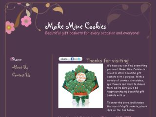 Shop at makeminecookies.com
