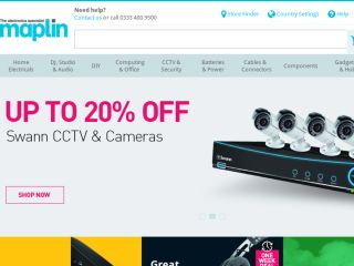 Shop at maplin.co.uk
