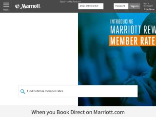Shop at marriott.com