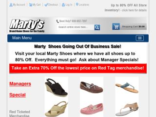 Shop at martyshoes.com