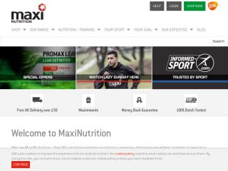 Shop at maximuscle.com