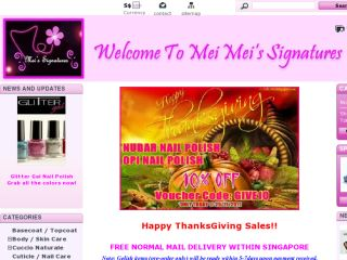 Shop at meimeisignatures.com